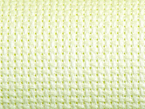 Charlescraft 16 HPI Gold Standard Aida Cross Stitch Fabric Antique White - per pack