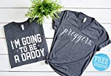 Preggers shirt + Daddy to be, pregnancy announcement,Preggo shirt, Baby Announcement, Pregnancy shirt