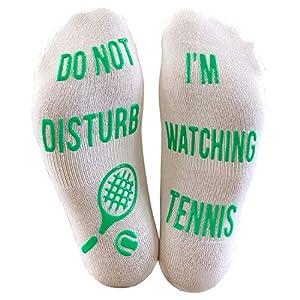 גרבי כותנה עם איורים של טניס להבטחת נוחות רק באתר tennisnet !