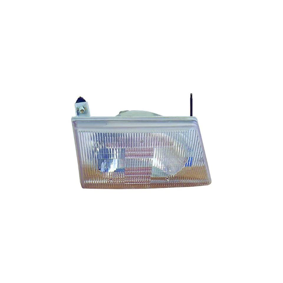 Depo 331 1124R AC Ford Econoline Passenger Side Replacement Headlight Assembly