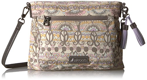 Sakroots womens Camden Small Crossbody Pastel One World