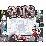 SaveMax Disney 2018 Comic Four Goofy Donald Mickey Pluto 4x6 Picture Frame (Florida Namedrop)