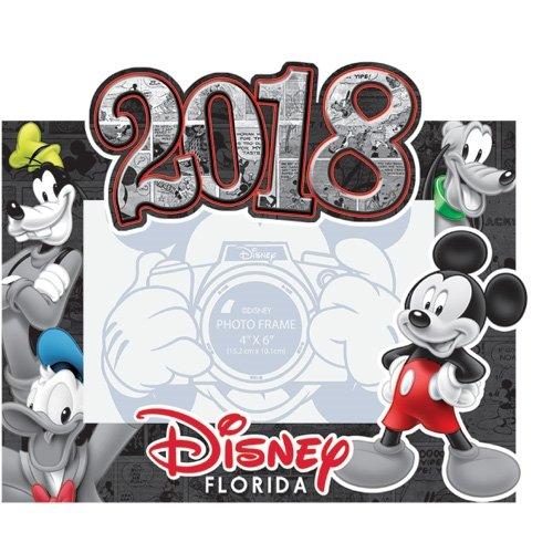 Disney 2018 Florida Photo Frame Comic Four Mickey Mouse Florida (Disney Picture Frames 4x6)