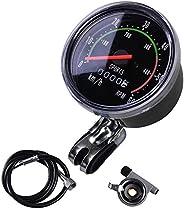 Yosoo New Analog Speedometer Odometer Classic Style for exercycle &
