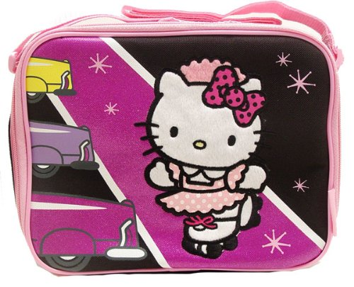 Christmas Gift – Sanrio Hello Kitty Lunch Bag with Water Bottle in Pink Color, Baby & Kids Zone