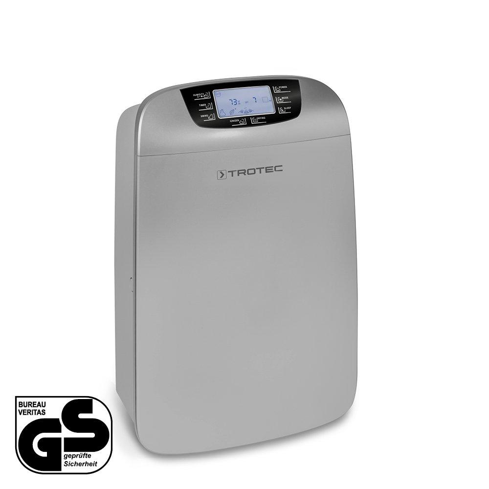 max.40 L//Tag TROTEC Komfort Luftentfeuchter und Luftreiniger TTK 110 HEPA geeignet f/ür R/äume bis 300 m/³ // 120 m/²