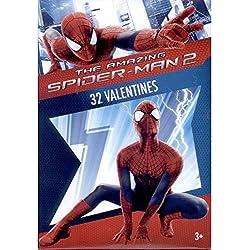 Paper Magic 32CT Showcase Spiderman 2 Kids Classroom Valentine Exchange Cards