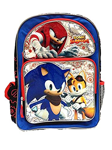Sonic Backpack - New Sonic Boom Large School Backpack