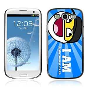 Designer Depo Hard Protection Case for Samsung Galaxy S3 / Smiley Sign