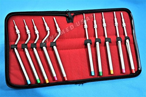 NEW GERMAN STAINLESS Sinus Lift Osteotomes Kit Straight Off Set Concave Dental Implant Instrument CE-A+ QUALITY by Cynamedusa (Image #1)