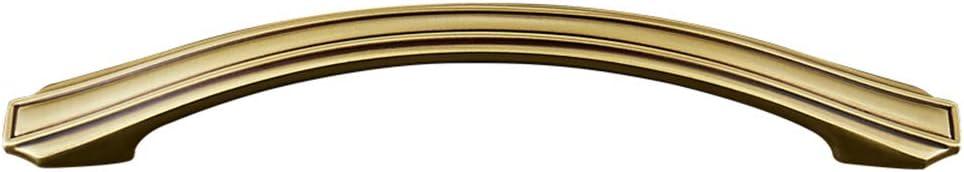 Secci/ón Larga Retro Mango de Metal Armario Manija del Caj/ón Armario Manija de la Puerta Muebles Decoraci/ón Accesorios,Gold,12.5CM Family History 2X Todo Mango de Bronce