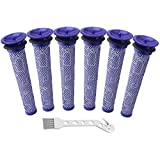 Mribo 3 Pack Washable Pre Filters Replacements Compatible for Dyson V6 V7 V8 DC58 DC59 DC61 DC62 DC74 Cordless Vacuum Cleaners, Replacements Part # 965661-01