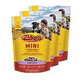 Zuke's Mini Naturals Dog Treats Rabbit Recipe 6 oz 3 Pack For Sale