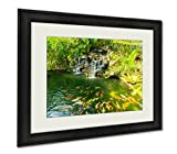 Ashley Framed Prints Koi Carp Fishes In The Pond Of Phuket Botanical Garden At Phuket Island, Wall Art Home Decoration, Color, 30x35 (frame size), AG5889202