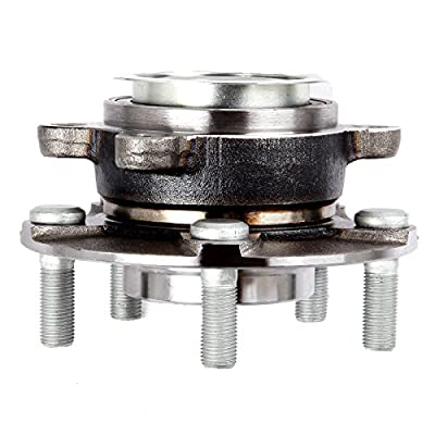 cciyu 513298 Wheel Hub and Bearing Assembly Replacement for fit 2007-2012 Nissan Sentra Wheel Hubs 5 Lugs (2): Automotive