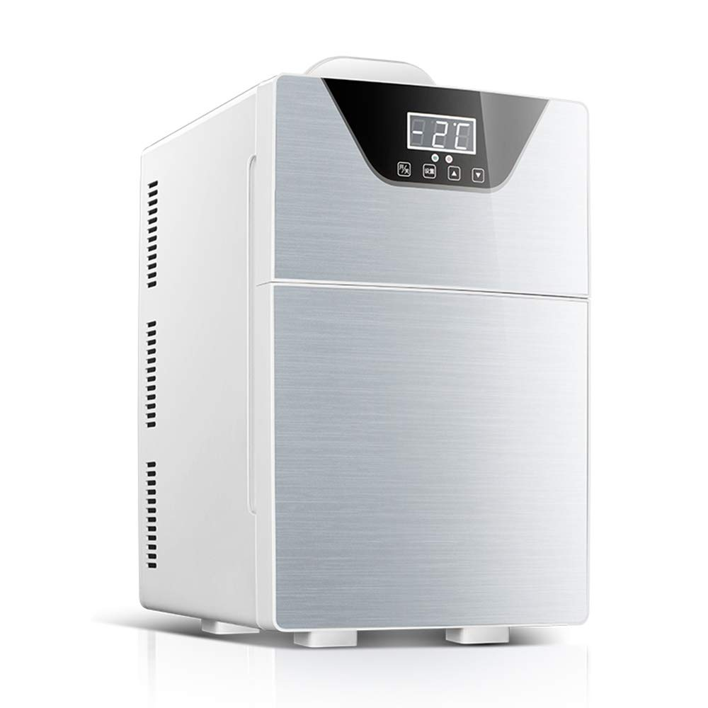 ZHOU YANG 20L Mini Small Refrigerator Small Household Refrigeration Rental Micro-Dorm Car Home Dual-use Cosmetics Car Refrigerator