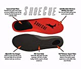 ShoeCue: The Athletic Shoe Inserts designed for Running, Educational Insole that Prevents Heel Striking and Reduces Injuries + Perfect for Crossfit Shoes and Running Shoes for Men and Women - Medium