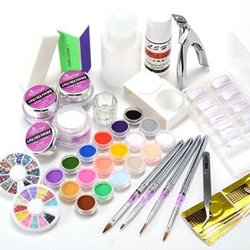 kit d'ongles en acrylique