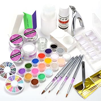 kit resine ongles complet