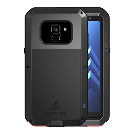 brand new 6282b 49d90 Galaxy A8 2018 Waterproof Case, Shockproof Snowproof Dustproof Durable  Aluminum Metal Gorilla Heavy Duty Full-Body Protection Case Cover for  Samsung ...
