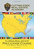 Florida Real Estate Pre-License Course for Sales Associates, Cutting Edge Real Estate Academy, 1479732540