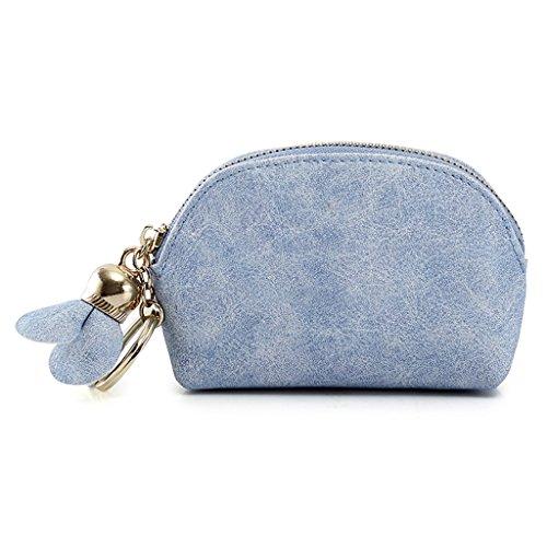 della borse della bel moneta del delle di signore della della borsa e Sud monete borsa Corea della moneta CLOTHES della Cielo della borsa Giappone Sacchetto della borsa caramella delle semplice Blu personalità XtwqWCU