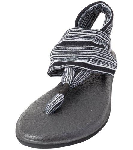 Amazon.com : Sanuk Womens Yoga Sling 2 Sandals - Black ...