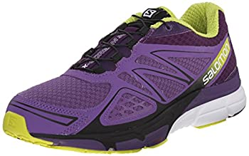 Salomon Women's X-scream 3d W Trail Running Shoe, Rain Purplecosmic Purplegecko Green, 9 B Us 0