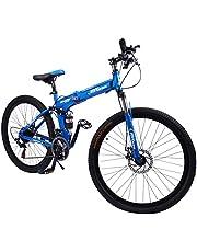 Fitness Minutes Folding Bike, Blue, FM-F26-01S-BL