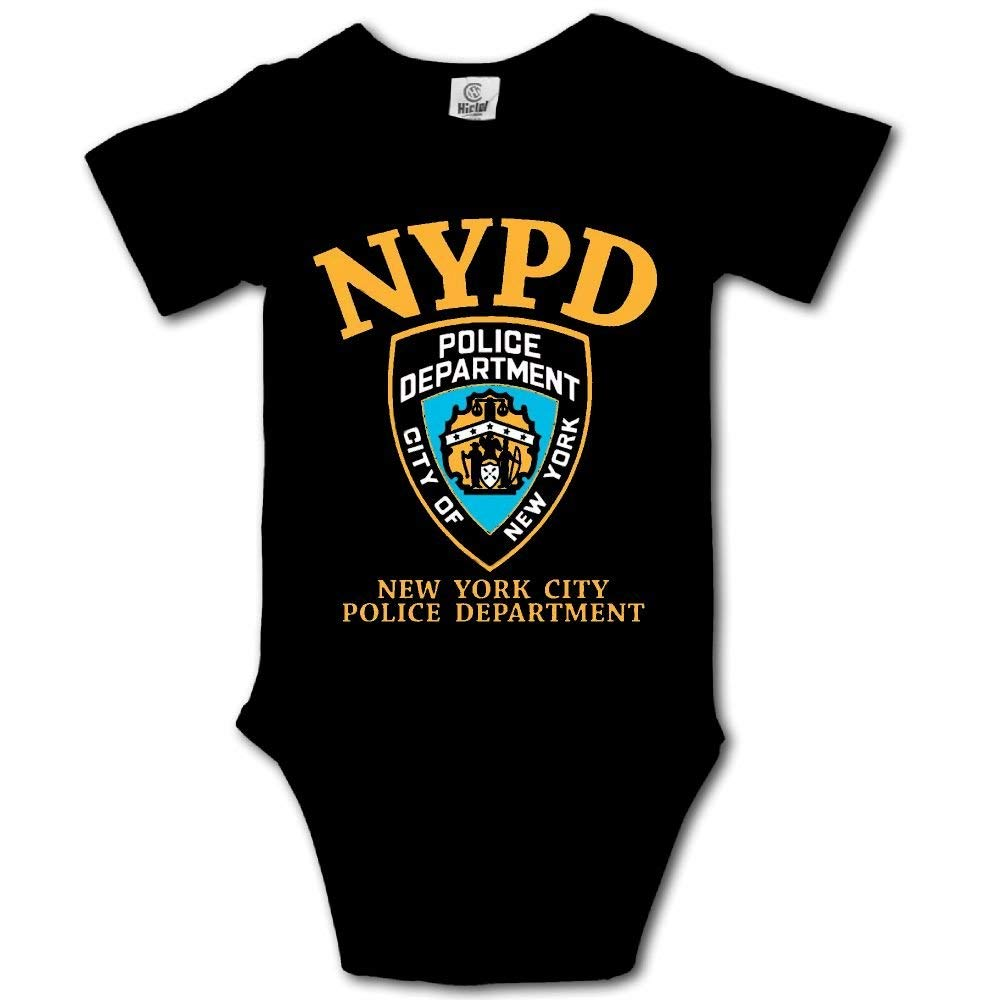 c8182086a00 Amazon.com  NYPD Logo Babies Girls Clothes Summer Rompers for Newborn   Clothing