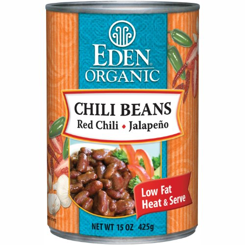 Eden Bread (Eden Organic Chili Beans with Red Chili and Jalapeno, 15-Ounce Cans (Pack of 12))