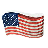 American Flag Pinata for Fourth of July, USA Patriotic Decoration, Party Game and Photo Prop