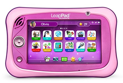 LeapFrog LeapPad Ultimate, Pink (Best Leappad Games For 3 Year Old)