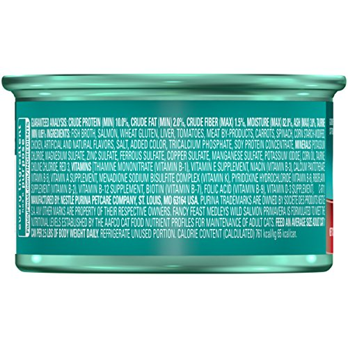 Purina Fancy Feast Medleys Adult Canned Wet Cat Food - (24) 3 oz. Cans 3