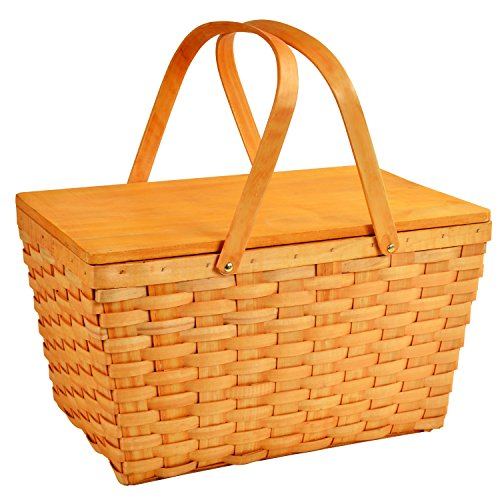 - Picnic at Ascot Large Family Size Traditional American Lined Picnic Basket