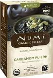 Numi Organic Tea Cardamom Pu-erh Tea Bags, 16-Count Full Leaf, non-GMO Tea Bags