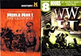 The History Channel : Ultimate WWI Collection : 14 Episodes : Most Decorated: The Doughboys , WWI: Death of Glory , Secrets of World War I , The First Dogfighters , Red Baron and The Wings of Death , Airships , Mystery U-Boat of WWI , World War One: Jutland , World War One: The Somme , Halt U-Boats in Zeebrugge , John J. Pershing: The Iron General , Dear Home: Letters from World War I , Christmas Truce , Last Day of WWI ,WWII 10 Episode Collection : Divide And Conquer , The Battle Of Britain , The Battle Of China , War Comes To America , The World At War , America The War Years 1941 , America The War Years 1942 , Iwo Jima , Battle Of Midway, Global War : 2 Box Sets - 6 Discs : 1233 Minutes