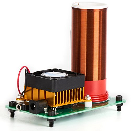 Sunnytech Music Tesla Coil Arc Plasma Loudspeaker Wireless Transmission Experiment Desktop JX03