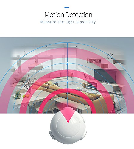 Coolcam Worlds Smallest Discreet Compact WiFi Easy Install, Battery Operated, PIR Motion Sensor NAS-MS03W by CoolCam (Image #4)