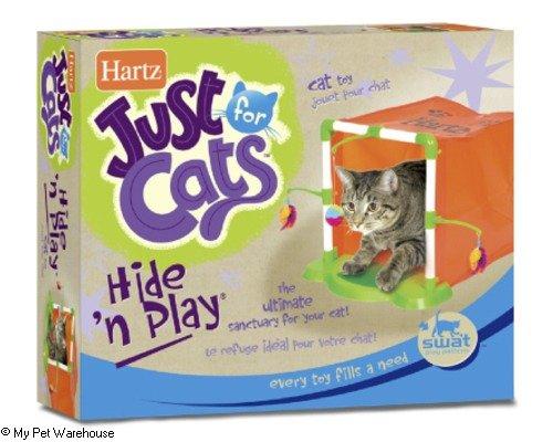 Hartz 02270 At Play™ Hide'N Play™ Cat Activity Center