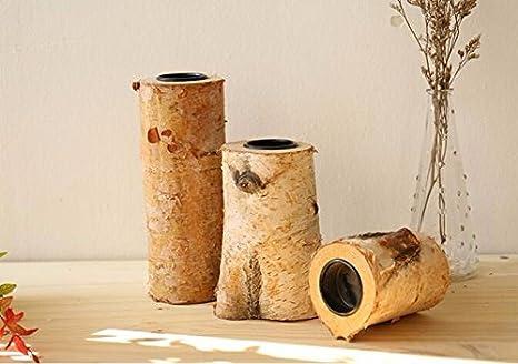 Candele Camera Da Letto : Peiwenin american retro legno porta candele decorazioni casa