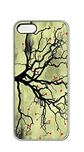 Hard Back Shell Case Cover phone case iphone 5s for boys - HeartPlantFractal