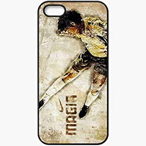 Personalized iPhone 5 5S Cell phone Case/Cover Skin Advertising Firm Nike Ronaldinho Black