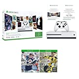 Xbox One Sports Bundle (3 Items): Xbox One S 500GB Console Starter Bundle, NFL 17, and FIFA 17 Games