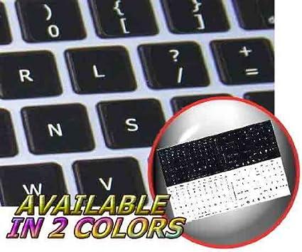 MAC DVORAK KEYBOARD STICKERS BLACK BACKGROUND