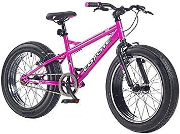 Coyote Fatman Fat Bike - Bicicleta infantil y juvenil (20