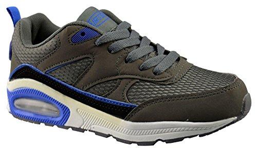 Synthetisch Leren Schoenen Van Air Tech Dames 3 Grijs / Blauw