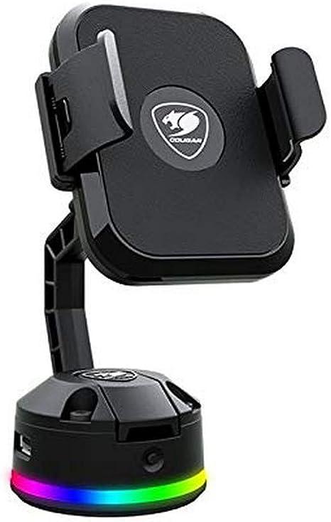 Cougar Gaming Soporte de Carga Smartphone Bunker M RGB con Ventosa ...