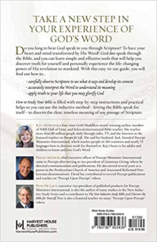 How to Study Your Bible: Discover the Life-Changing Approach to ...