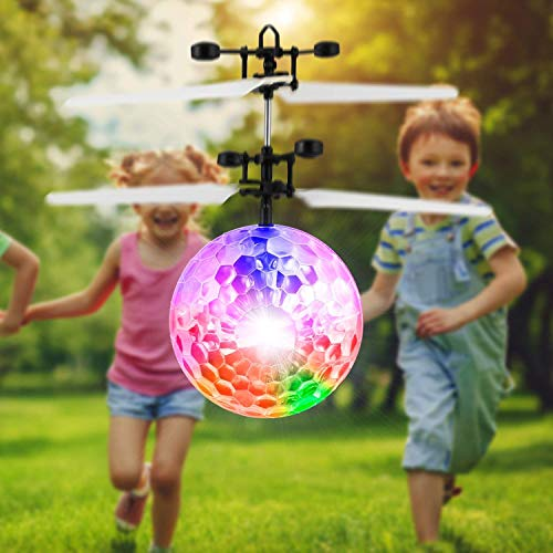 Mysterious Flying Ball Toys Infrared Induction RC Toy